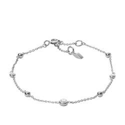 Fossil JFS00452040 Armband Damen Glitz Sterling-Silber 16,5 cm