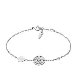 Fossil JFS00463040 Armband Damen Cut Out Sterling-Silber
