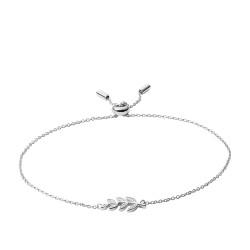 Fossil JFS00484040 Armband Damen Olive Branch Sterling-Silber