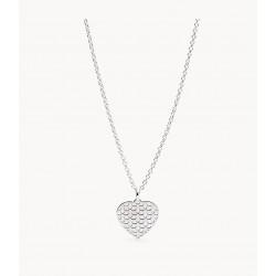 Fossil JFS00492040 Kette mit Anhänger Cutout Heart Silber