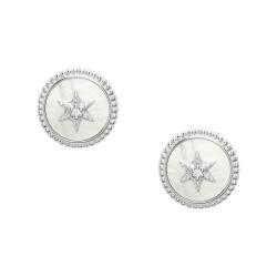 Fossil JFS00500040 Ohrstecker Damen Vintage Star Silber
