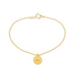 Beka & Bell Armband Damen Junggesellinnenabschied JGA Silber Gold Gr. M