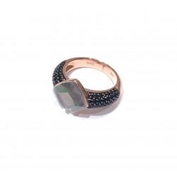 JOOP! Ring Amazonit Smaragdschliff Zirkonia JPRG90657C Gr. 57
