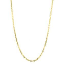 JOOP! JPNL90640B700 Kette Damen Katy Silber IP-Gold 70 cm