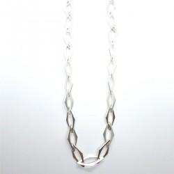Karat KAKE-1235 Halskette Damen Raute Sterling-Silber 46 cm