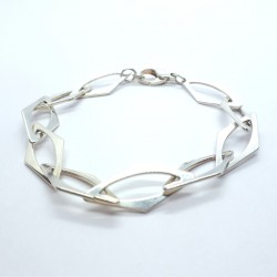 Karat KA-1234-2 Armband Damen Raute Sterling-Silber 20 cm