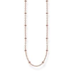 Thomas Sabo KE1890-415-40 Kette Damen Erbskette Silber Rosé-Ton