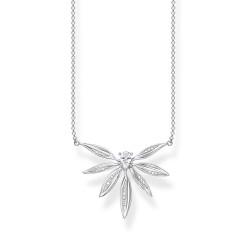 Thomas Sabo KE1949-051-14 Halskette mit Anhänger Damen Blätter Silber