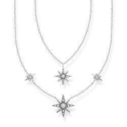 Thomas Sabo KE1984-643-14 Halskette mit Anhänger Sterne Sterling-Silber