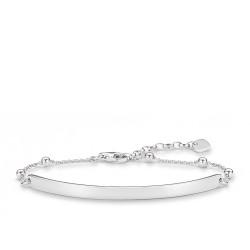 Thomas Sabo LBA0044-001-12 Armband Love Bridge Dots Silber