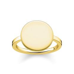 Thomas Sabo LBTR0001-413-12 Ring Coin Gelbgold