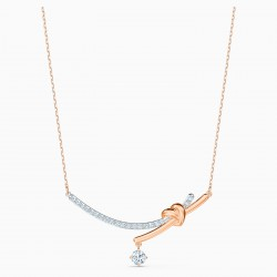Swarovski 5517951 Halskette mit Anhänger Damen Lifelong Heart Rosé Vergoldet