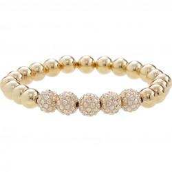LolaandGrace 5072658 Armband mit Swarovski® Kristallen Gelbgold