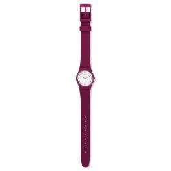 Swatch LR130 Damen-Uhr Redbelle Silikon Rot Ø 25 mm