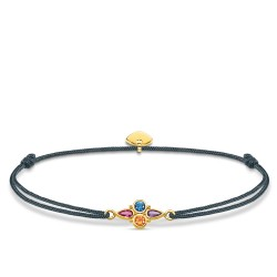 Thomas Sabo LS076-300-7 Armband Little Secret Farbige Steine Gold-Ton