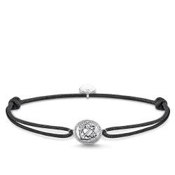 Thomas Sabo Rebel LS086-889-11 Armband Little Secret Glaube Liebe Hoffnung Silber 27 cm