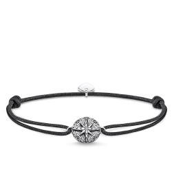 Thomas Sabo Rebel LS088-907-11 Armband Little Secret Vintage Kompass Silber 27 cm