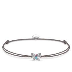 Thomas Sabo LS107-965-5-L20v Armband Little Secret Damen Schmetterling Silber