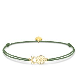 Thomas Sabo LS110-413-6-L20v Armband Little Secret Ananas Silber Vergoldet