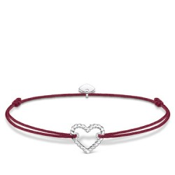Thomas Sabo LS113-173-10-L20v Armband Little Secret Damen Herz in Kordeloptik Silber