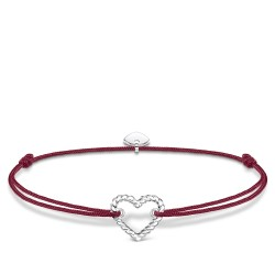 Thomas Sabo LS113-173-10 Armband Little Secret Herz Kordeloptik Silber