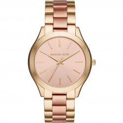 Michael Kors MK3493 Slim Runway Damenuhr bicolor Ø 42 mm