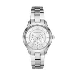 Michael Kors MK6587 Damen-Uhr Runway Edelstahl Silber-Ton Multifunktion Ø 38 mm