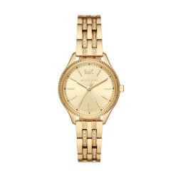 Michael Kors MK6739 Damen-Uhr Lexington Analog Quarz mit Edelstahl-Armband Ø 36 mm