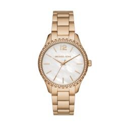 Michael Kors MK6870 Damen-Uhr Layton Quarz Edelstahl-Armband Gold-Ton