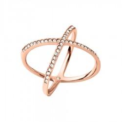 Michael Kors MKJ4137791 Ring Brilliance Rosé-Ton Gr. 52 (16,5)