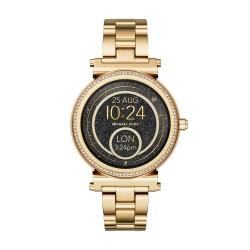 Michael Kors MKT5021 Smartwatch Sofie im Gold-Ton mit Pavé-Fassung
