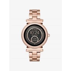 Michael Kors MKT5022 Smartwatch Sofie im Rosé-Goldton mit Pavé-Fassung Ø 42 mm