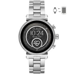 Michael Kors MKT5061 Smartwatch Damen Sofie Heart Rate mit Edelstahl-Band Ø 41 mm