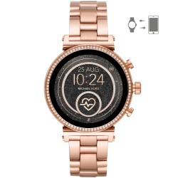 Michael Kors MKT5063 Smartwatch Damen Sofie Heart Rate mit Edelstahl-Band Ø 41 mm