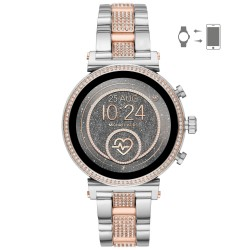 Michael Kors MKT5064 Smartwatch Damen Sofie Heart Rate mit Edelstahl-Band