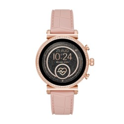 Michael Kors MKT5068 Smartwatch Damen Sofie Heart Rate mit Silkon-Band Ø 41 mm