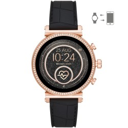 Michael Kors MKT5069 Smartwatch Damen Sofie Heart Rate mit Silikon-Band Ø 41 mm