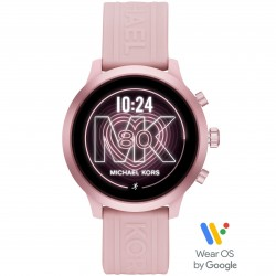 Michael Kors MKT5070 Smartwatch Damen Access MKgo mit Silikon-Band Ø 43 mm