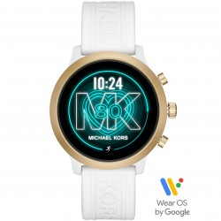 Michael Kors MKT5071 Smartwatch Damen Access MKgo mit Siliko-Band Ø 43 mm