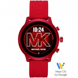 Michael Kors MKT5073 Smartwatch Access MKgo mit Silkon-Band Ø 41 mm