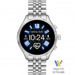 Michael Kors MKT5077 Smartwatch Lenxington 2 mit Edelstahl-Band Ø 44 mm