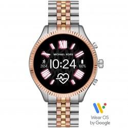 Michael Kors MKT5080 Smartwatch Lexington 2 mit Edelstahl-Band Ø 44 mm