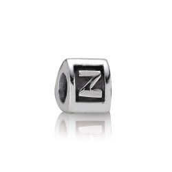 """Pandora 790323-Z Charm Buchstabe """"Z"""" Silber"""