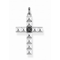 Thomas Sabo PE810-643-11 Ketten-Anhänger Rebel at Heart Kreuz Sterling-Silber