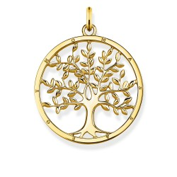Thomas Sabo PE823-413-39 Anhänger Tree Of Love Gold-Ton Silber