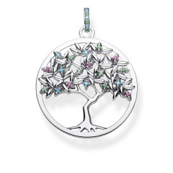 Thomas Sabo PE826-348-7 Anhänger Tree of Love Sterling-Silber