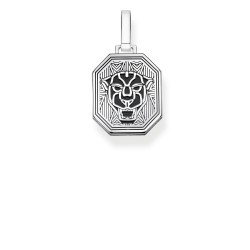 Thomas Sabo PE862-698-11 Anhänger Black Cat Sterling-Silber