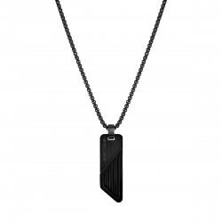 Police PJ26572PSB02 Halskette mit Anhänger Herren Boyne Edelstahl 70 cm