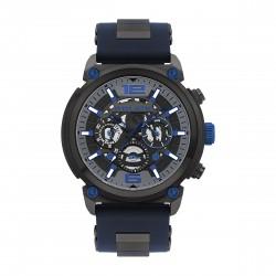 Police PL14378JSU.13P Herren-Uhr Armor Multifunktion Quarz Silikon-Armband