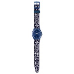 Swatch GN413 Armband-Uhr Calife Analog Quarz mit Silikon-Band
